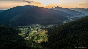In the Valley of the Carpathians